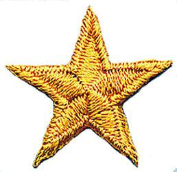 House Brand Gold Star Patch